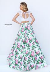 50492 Ivory/Pink Print back