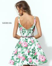 50498 Ivory/Pink/Green Print back