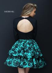 50559 Black/Emerald back
