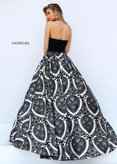 50577 Black/Ivory Print back