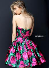 50579 Black/Fuchsia Print back