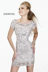 Sequined Short Sleeves