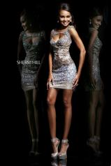 9704 Short Sequined