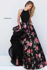 50333 Black/Red Print front