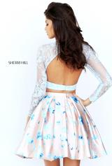 50764 Light Blue/Nude Print back