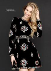 51342 Black/Multi detail