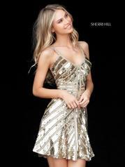 51363 Gold detail