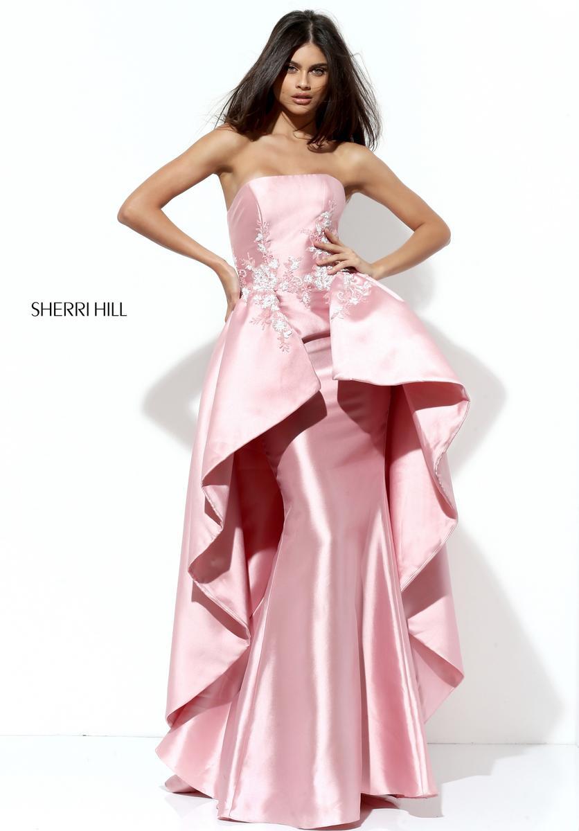 Sherri hill black prom dresses 2018