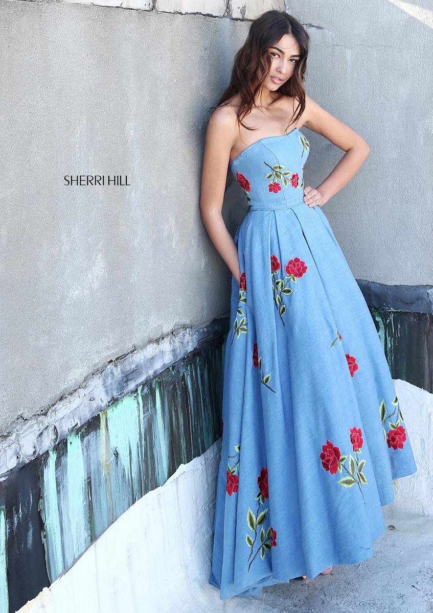 Sherri hill 51154 sherri hill wedding gowns prom dresses for Wedding dresses sherri hill