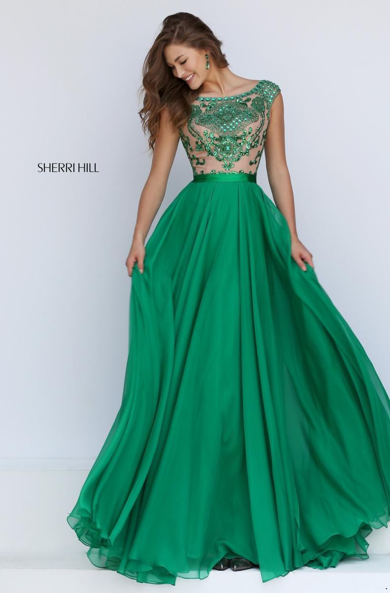 Emerald Prom Dresses 2018 34