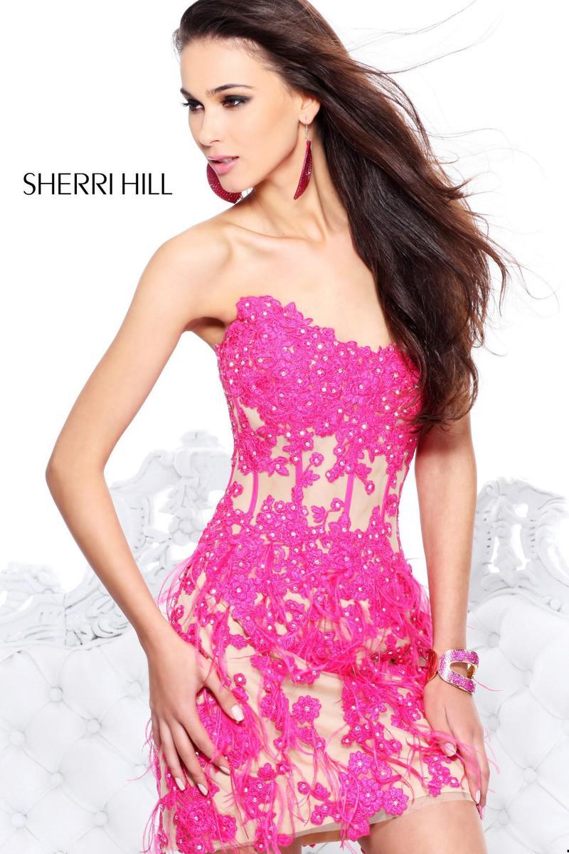 Красивые вечерние платья 2014 короткие 9