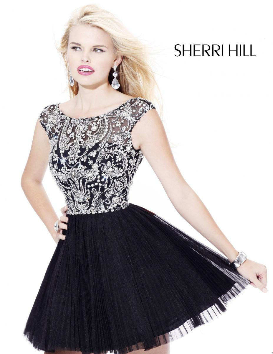Simple Homecoming Dresses With Sleeves 107