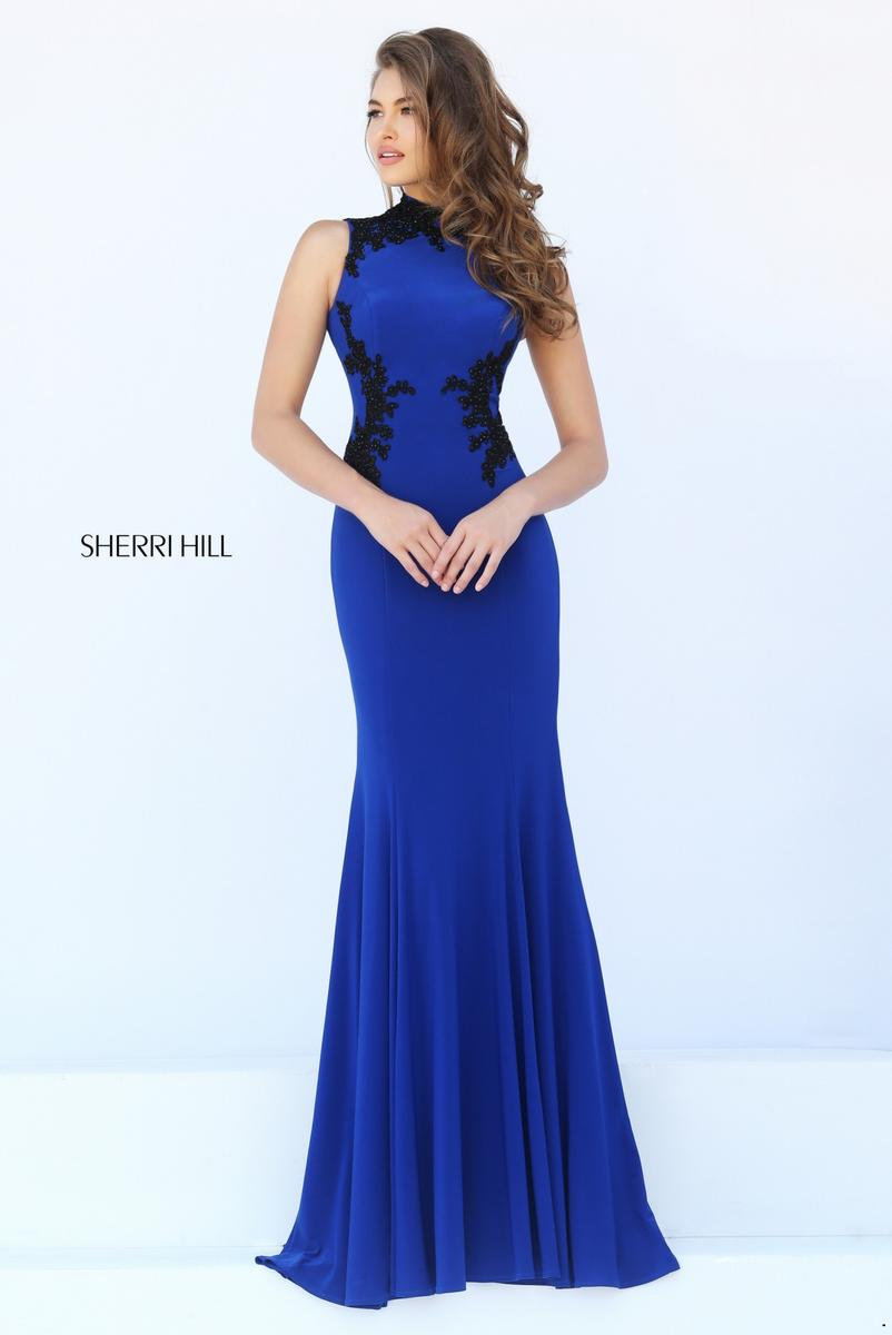 Sherri hill 50103 sherri hill wedding gowns prom dresses for Wedding dress sherri hill