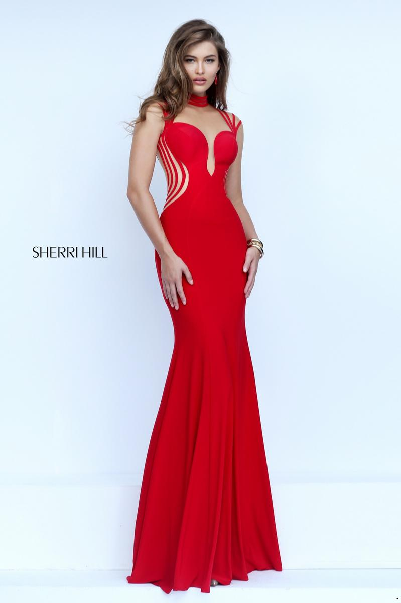 Sherri hill 50117 sherri hill 2017 prom dresses bridal for Wedding dress sherri hill