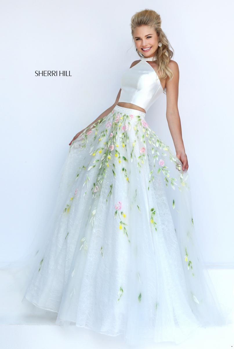 Sherri hill 50196 sherri hill 2017 prom dresses bridal for Wedding dresses sherri hill