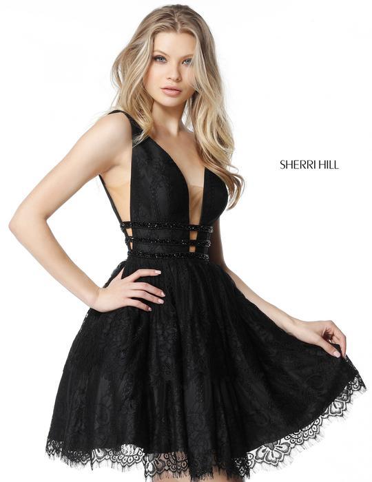 Sherri Hill Black 2018