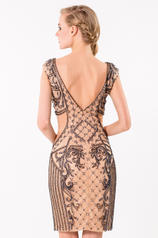 1521C0225 Nude/Navy back